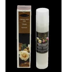 Krema za obraz TRIBAL HAMMAM (50 ml), ZA VSE TIPE KOŽE z oslovskim mlekom in arganovim oljem