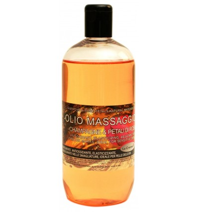 Olje za telo ŠAMPANJEC in CVETOVI VRTNICE (150 ml)
