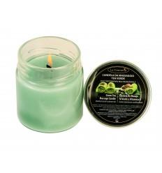 Masažna sveča ZELENI ČAJ (200 ml)