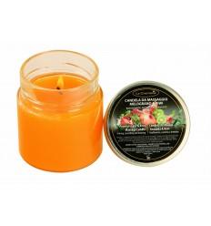 Masažna sveča GRANATNO JABOLKO in KIVI (200 ml)
